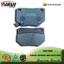 semi-metallic brake pad for SUBARU IMPREZA WRX REAR 2000