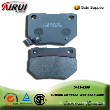 semi-metallic brake pad for SUBARU IMPREZA WRX REAR 2000