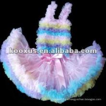 Pettiskirt / petti capa / vestido de fiesta / pettiskirts / baby falda / tutus