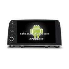 Quad core! Android 6.0 voiture dvd pour HONDA CRV 2017 avec écran capacitif de 9 pouces / GPS / lien miroir / DVR / TPMS / OBD2 / WIFI / 4G