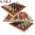 High Quality Wooden Game Chess Play Now