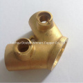 OEM 60degree Threaded Elbow Pipe Nipple Copper Fitting
