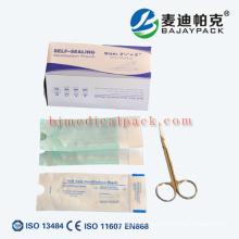 Packungsmaterial-Beutel und Rollen des medizinischen Geräts