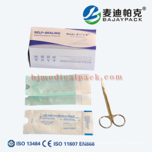 Medical Device Packing Material Pouches and Rolls