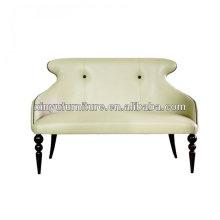 Design unique en cuir recouvert de dossier canapé de salon XY3372