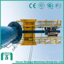 Grue de potence de pilier avec l'application extérieure résistante de 10 tonnes