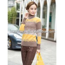 Кашемировый пуловер мода 2014 женщин