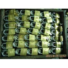 32MM goldene Farbe Eisen Vorhängeschloss