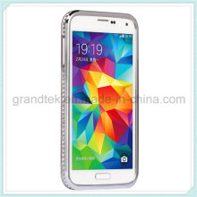 Strass Diamond Bling Metal Case Cover Bumper für Samsung S5 I9600