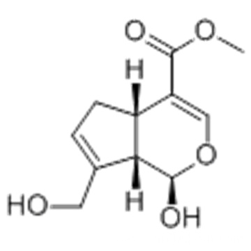 1,4a,5,7a-Tetrahydro-1-hydroxy-7-(hydroxymethyl)-cyclopenta(c)pyran-4-carboxylic acid methyl ester CAS 6902-77-8