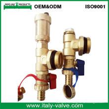 Válvulas de ventilación forjadas de latón de calidad personalizada