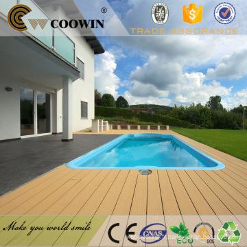 piscine wpc composite étage idée