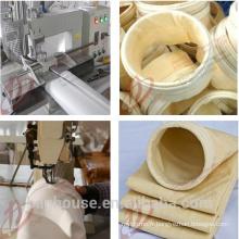 Matériau de feutre filtrant pour filtres pour sacs à poussière