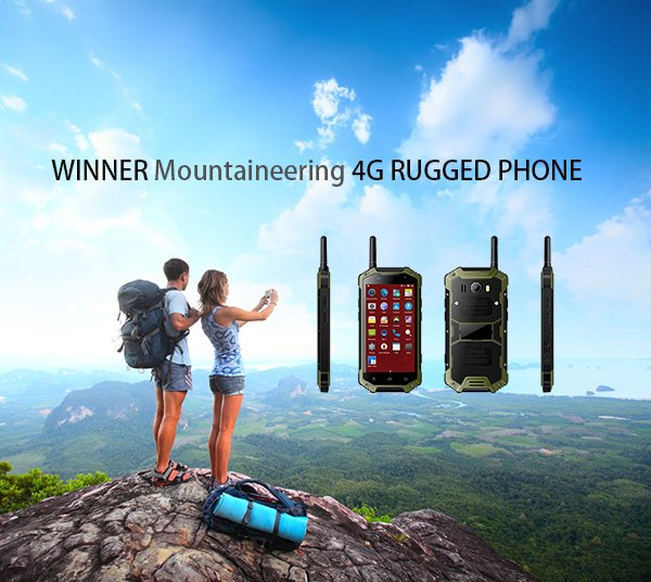 WINNER Mountaineering 4G RUGGED PHONE