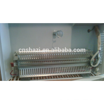 Aluminum extrusion moulding heating element for room heater