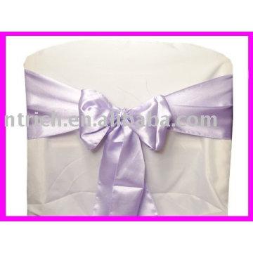 ceintures de satin jupettes, purple, liens de chaise, chaise enveloppements