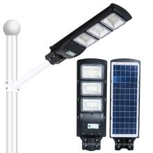 Luz de calle solar al aire libre led de 90 vatios integrada