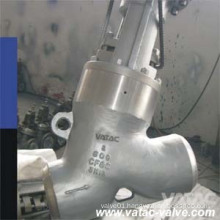 Cast Steel Y Type Globe Valve Supplier