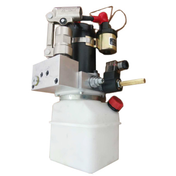 Hydraulic working station for wheelchair