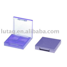 Farbe 2 quadratische Eyeshadow Palette Kosmetik Verpackung