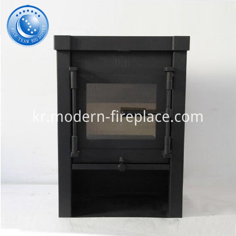 Steel Wood Burning Fireplace China CE Certification