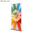 2018 anúncios de venda quente 100 cm * 180 cm roll up suporte da bandeira