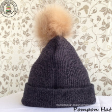 Pompon Hat / Beanie Hat / Winter Hat (BH-02)