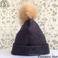 Pompon chapéu / Beanie Hat / chapéu de Inverno (BH-02)