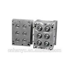 8 CAVITY molde de inyección de tapa de plástico