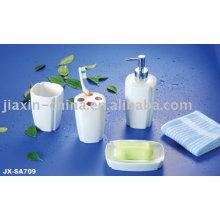 El baño de porcelana de color blanco 4pcs fijó JX-SA709