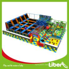 Trampoline intérieur à l'importation Mat Commercial Franchise avec aire de jeux pour enfants