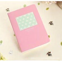 Mini Cartoon Sewing Portable Notebook, Haute qualité Cuir Notebook