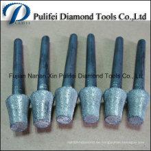 Steingravur Burr montiert Tipp Point Tool Diamantgravur Bits