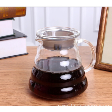 Good Quality for for Coffee Carafe Handblown Glass Coffee Maker supply to Netherlands Antilles Factory