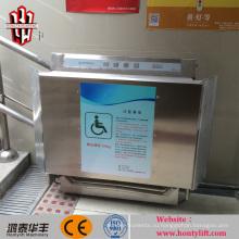 подъемник для инвалидной коляски с электроприводом для подъема по лестнице / безбарьерный подъемник для инвалидов