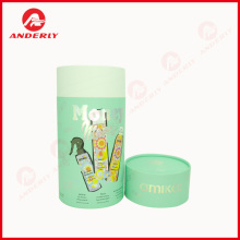 Customized Logo Paper Tube Packaging For Hair Care
