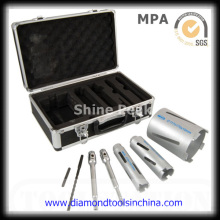 Diamond Core Drill Bit Sets for Drilling Concrete with Metal