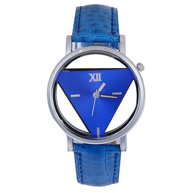 Triangle Leather Quartz Watch