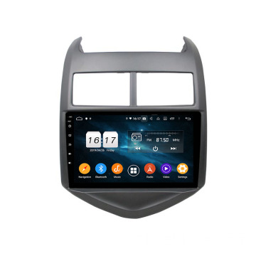 2015 Aveo auto multimedia-systeem android 9.0