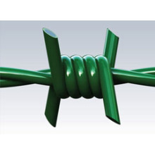 PVC Coated Barbed Wire/ Barbed Rope