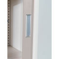 Steel Office Cabinets with Acrylic Glass Sliding Doors