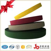Ruban de bande de liaison en polyester à tissage bon marché