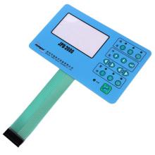 Interruptor de teclado de membrana impresso em tela flexível