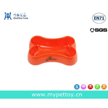 High Material Bone Shaped Pet Bowl