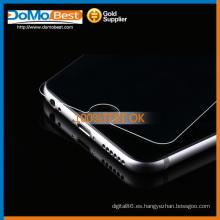 Lado doble, 9H 2,5 D redonda protector de pantalla de vidrio templado borde 0,3 mm asahi para Iphone 6
