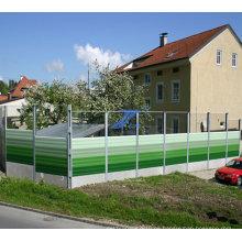 Barrera de sonido en alta calidad para área residencial