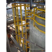 Escadas de fibra de vidro / FRP / FRP com alta qualidade