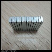 Постоянный неодимовый магнит блок с сертификатом ISO
