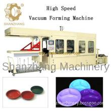Plastic Vacuum Forming Machine make plastic plate