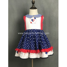 July 4th digital print baby girl dresses